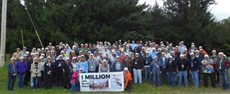 Title: 1 Million Safe Work Hours - Description: 1 Million Safe Work Hours - Employee Group Photo